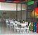 Conjunto com 1 Mesa e 6 Cadeiras - Mesas e Cadeiras para Restaurante REF 8030 - Imagem 1