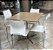 Conjunto com 1 Mesa e 4 Cadeiras - Mesas e Cadeiras para Restaurante REF 6110 - Imagem 1
