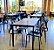 Conjunto com 1 Mesa e 6 Cadeiras - Mesas e Cadeiras para Restaurante REF 8090 - Imagem 2