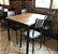 Conjunto com 1 Mesa e 4 Cadeiras - Mesas e Cadeiras para Restaurante - Imagem 1
