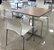 Conjunto com 1 Mesa e 2 Cadeiras - Mesas e Cadeiras para Restaurante - Imagem 1