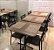 Conjunto com 1 Mesa e 2 Cadeiras - Mesas e Cadeiras para Restaurante REF 7090 - Imagem 1