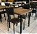 Conjunto com 1 Mesa e 2 Cadeiras - Mesas e Cadeiras para Restaurante REF 7070 - Imagem 1