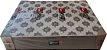 BOX ACOPLADO CASAL DESIGN VENUS 138X188X54 SUEDE MR CLARO - Imagem 1