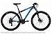 Bicicleta MTB Kode Active - Shimano Tourney 21v - Preta e Azul - Imagem 1
