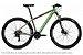 Bicicleta MTB Kode Izon - Shimano Tourney 24v - Prata e Verde - Imagem 1