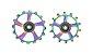 Polia Roldana de Câmbio Token 12v Oversized Plus Rainbow Tiramic (Cerâmico) - Imagem 1