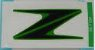 ADESIVO TANQUE COMBUSTIVEL Z1000 2010 a 2013 VERDE   56054-1104 - Imagem 1