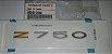 ADESIVO RABETA Z750 2009 a 2012 AZUL E VERDE   56054-0046 - Imagem 1