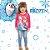 Blusa Infantil Brandili Manga Longa Frozen Licenciado Disney Baby Anna, Elsa e Olaf - Imagem 1