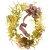 Guirlanda de flores desidratadas  ( Tamanho 60X60) - Imagem 1