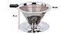 Coador De Café Pour Over Inox Tamanho 102 - Não Precisa Filtro de Papel - Imagem 4