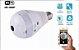 Lâmpada Segurança Câmera Espiã Wifi Inteligente 360º Ip V380 - Imagem 3
