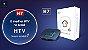 Receptor Iptv Smart Tv Htv 7 16Gb / 2Gb RAM / Android 9.0 / Bluetooth / Comando de voz - Preto - Imagem 5