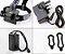 Lanterna - Cabeça + Bicicleta - Bateria - Led - Imagem 2