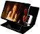 Ampliador Tela Celular Lente Universal Capa de Couro - Imagem 1