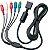 Cabo Componente PlayStation 2 Ps2 - Imagem 1