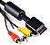 Cabo Av RCA PlayStation Ps2/Ps3 - 2m - Imagem 1