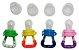 Alimentador De Fruta Bico Silicone Para Bebes Rede + 1 Refil - Imagem 2