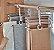 Cabide Calça Plástico e Aço Inox - Imagem 1