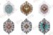 Mini Mandala Religiosa em MDF - Imagem 1