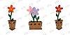 Vaso Flores em MDF - Imagem 1