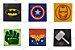 Placa Decorativa Super Heróis  - Imagem 1