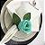 Porta Guardanapo Botão de Rosa Tiffany - 4 unidades - Imagem 4