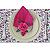 Porta Guardanapo Cravo Pink - 4 unidades - Imagem 3