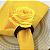 Porta Guardanapo Mini Botão de Rosa (Amarelo) - 4 unidades - Imagem 9