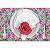 Porta Guardanapo Botão de Rosa Colombiana Pink da Charlô - 4 unidades - Imagem 5