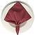 Guardanapo de Tecido Rosa Fantasia 32cmx32cm - 4 unidades - Imagem 1