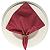 Guardanapo de Tecido Rosa Fantasia 32cmx32cm - 4 unidades - Imagem 4