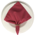 Guardanapo de Tecido Rosa Fantasia 32cmx32cm - 4 unidades - Imagem 5