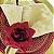 Guardanapo de Tecido Jacquard Overloque Dourado 40cmx40cm - 4 unidades - Imagem 3