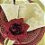 Guardanapo de Tecido Jacquard Overloque Dourado 40cmx40cm - 4 unidades - Imagem 1