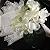 Guardanapo de Tecido Branco Chic com Renda Guipir da Charlô 36cmx36cm (2 peças) - Imagem 1