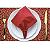 Guardanapo de Tecido Vermelho com Porta Guardanapo Hohoho – 4 pessoas - Imagem 5