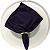 Guardanapo de Tecido Violeta Tafetá 28cmx28cm - 4 unidades - Imagem 1