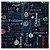 Kit 4 Guardanapos de Tecido Mensagem de Natal 40cmx40cm - Imagem 1