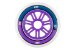 Rodas HD Inline Fun Purple/Blue 110mm - 6 rodas - Imagem 2