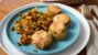 Falafel Molho Tahine Agridoce e Legumes Pomodoro - Imagem 1