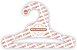 Cabide Personalizado com a sua logo / Infantil Aberto / Capa Branca / CS101 - Imagem 1