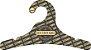 Cabide Personalizado com sua logo / Juvenil / Preto H / CS102 - Imagem 1