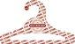 Cabide Personalizado com sua logo / Juvenil Aberto / Natural / CS103 - Imagem 2