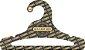 Cabide Personalizado com sua logo / Juvenil Aberto / Preto H / CS103 - Imagem 1