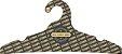Cabide Personalizado com sua logo / Adulto / Preto H / CS104 - Imagem 1