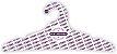 Cabide Personalizado com sua logo / Adulto / Capa Branca / CS104 - Imagem 2