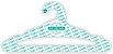 Cabide Personalizado com sua logo / Adulto Aberto / Capa Branca / CS105 - Imagem 2