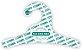 Promoção Comprou Ganhou:  Cabide Personalizado com a sua logo / Infantil / Capa Branca / CS100 -Ganhe a Tag Natural 1000 unidades personalizado - Imagem 2